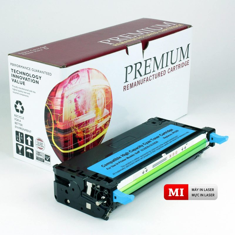 Combo máy và mực in laser HP Canon